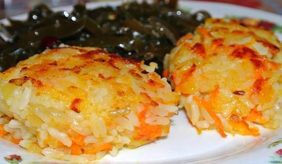 рецепт с фото биточки рисовые