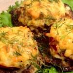Котлеты из баранины под картофельной шубкой
