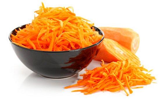 Тертая морковь для котлет